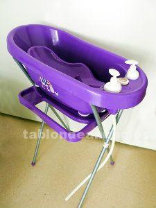 Bañera de bebe con accesorios