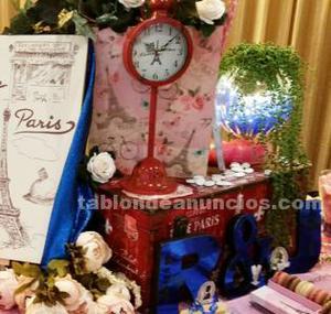 Baúl decoracion paris 50x35