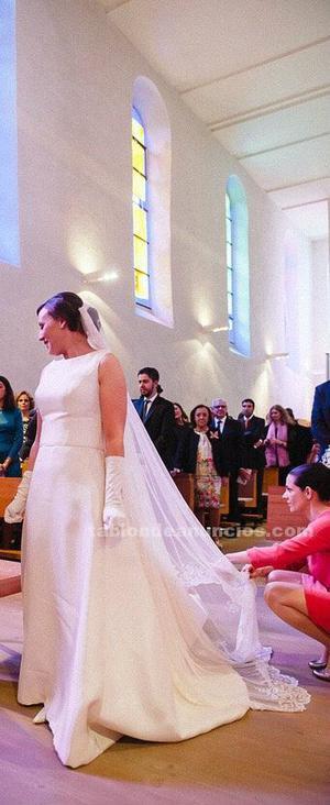 Basaldua vestido de novia
