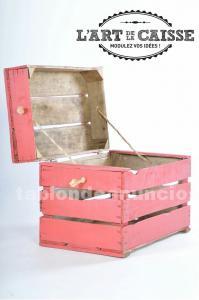 Cajas usadas de madera
