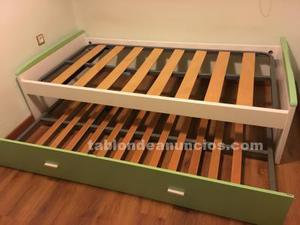 Cama nido, cama compacta