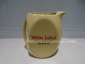 Jarra de whisky white label dewar's