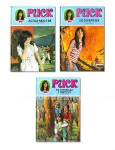 Lote 3 libros puck de lisbeth werner (ediciones toray)