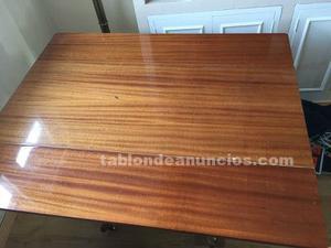 Mesa madera maciza extensible alas
