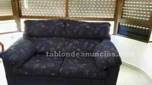 Oportunidad!! un sofa de dos plazas, dos sillones relax y