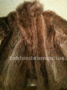 Se vende abrigo de vison y chaqueton de marmota