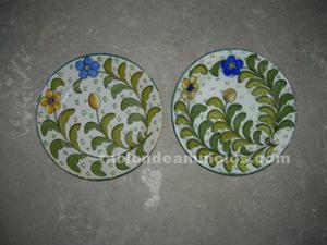 Vendo 2 platos de ceramica antigüos del puente del