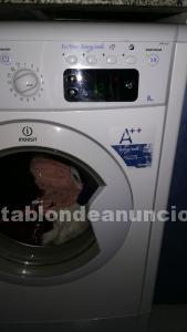 Vendo lavadora indesit 8kg
