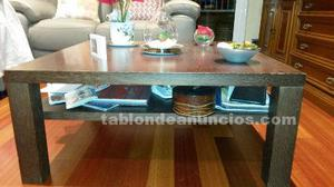 Vendo mesa de centro de madera