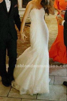 Vendo vestido de novia pronovias, modelo urdiel