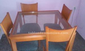 Venta mesas y cuatro sillas