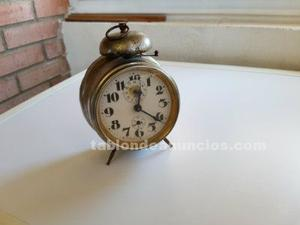 Se vende reloj despertador antiguo marca allerag
