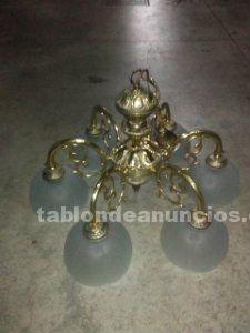 Se venden tres lámparas de salón