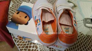 Vendo zapatillas de niño de pocoyo n 28