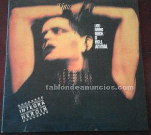 "Disco vinilo lou reed ""rock n roll animal"""