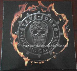 "Disco vinilo steve jones ""fire and gasoline"""