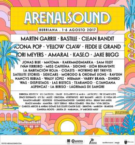 Entrada festival arenal sound