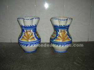 Vendo 2 jarras de ceramica de talavera de la reina con