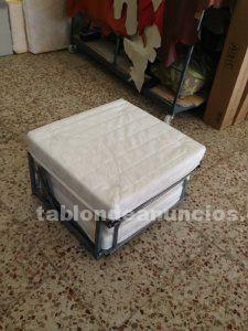Puf, cama plegable fabricado nuevo
