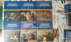 Vendo coleccion de libros de historia nacional nuevos