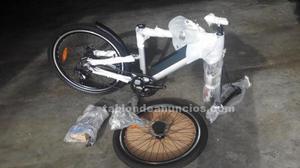 Bicicleta eléctrica tangram