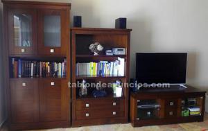 Muebles de salón en madera de cerezo