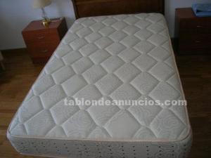 Cama (colchón, somier y cabecero) de 105