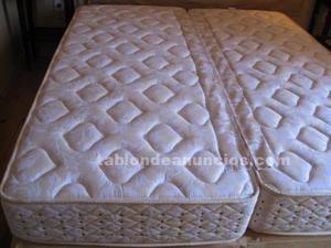 Cama doble 160x190 con canapé y cabecero