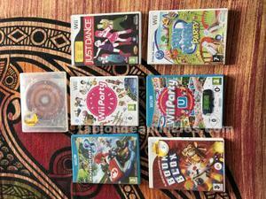 Mario kart 8 + 1 mando wii + 6 juegos