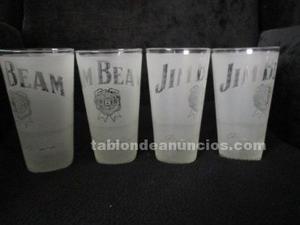 Vasos de bourbon marca jim beam