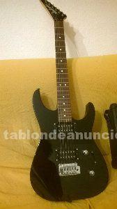 Guitarra jackson + amplificador vox + varios