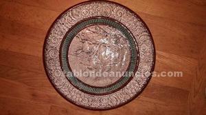 Plato ceramica 42cm diametro