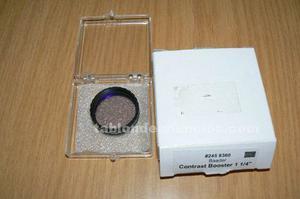 Se vende filtro contrast booster 31, 7 mm.