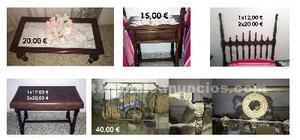 Se venden varios muebles antiguos