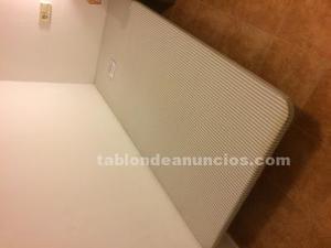 Canapé tapizado 190x90