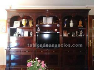 Mueble de salón de caoba