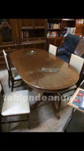 Vendo conjunto mesa de comedor y sillas