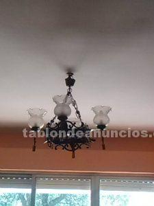 Vendo dos lamparas rusticas