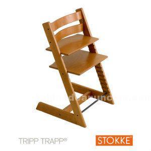 Trona de madera mod stokke