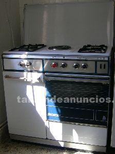 Vendo cocina de gas y electrica (4 fuegos de gas y 1