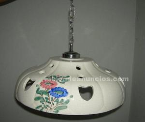Vendo lampara para cocina de ceramica.