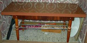 Vendo mesa de salon de fumador plegable de madera, medidas