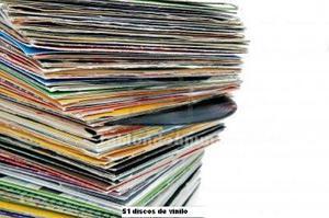 Vendo 51 discos grandes de vinilo