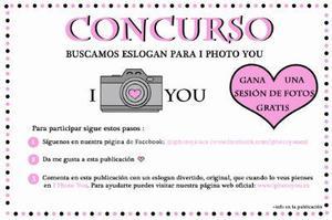 Concurso- gana una sesión de fotos gratis