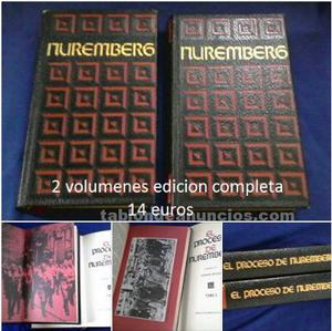 Libros el proceso de nuremberg
