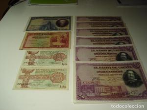 lote de billetes de la républica