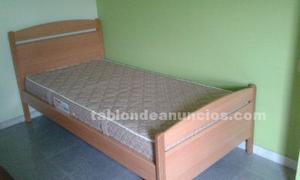 Vendo cama alta individual con colchon bac de posot class for Vendo cama individual