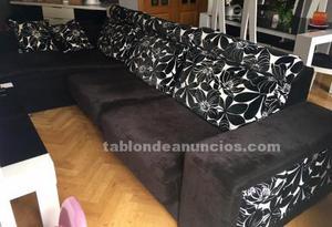 Vendo sofá cheslong 6 plazas