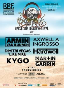 2 entradas al barcelona beach festival