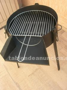 Barbacoa nueva de hierro galvanizado